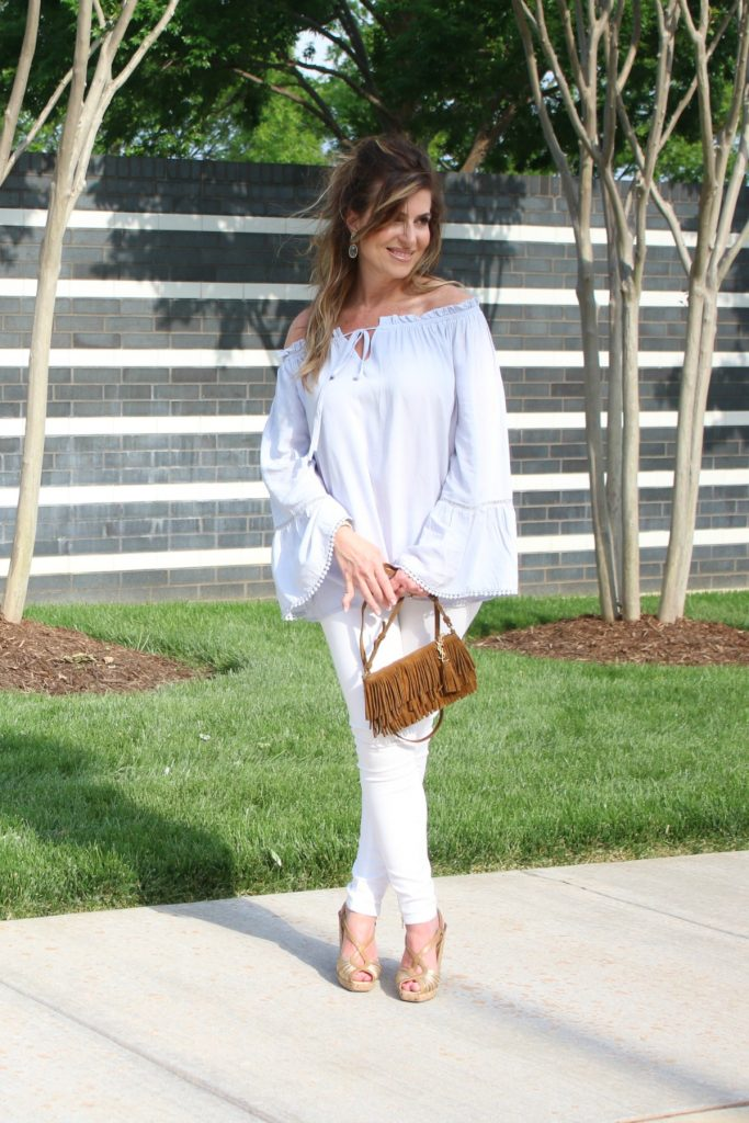 Off The Shoulder Flow Susan Hanover YSL TheOPLife.com 2