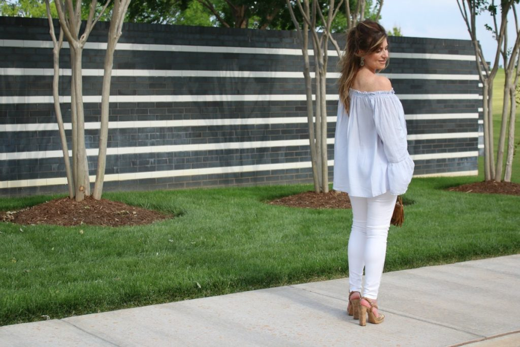 Off The Shoulder Flow Susan Hanover YSL TheOPLife.com 3