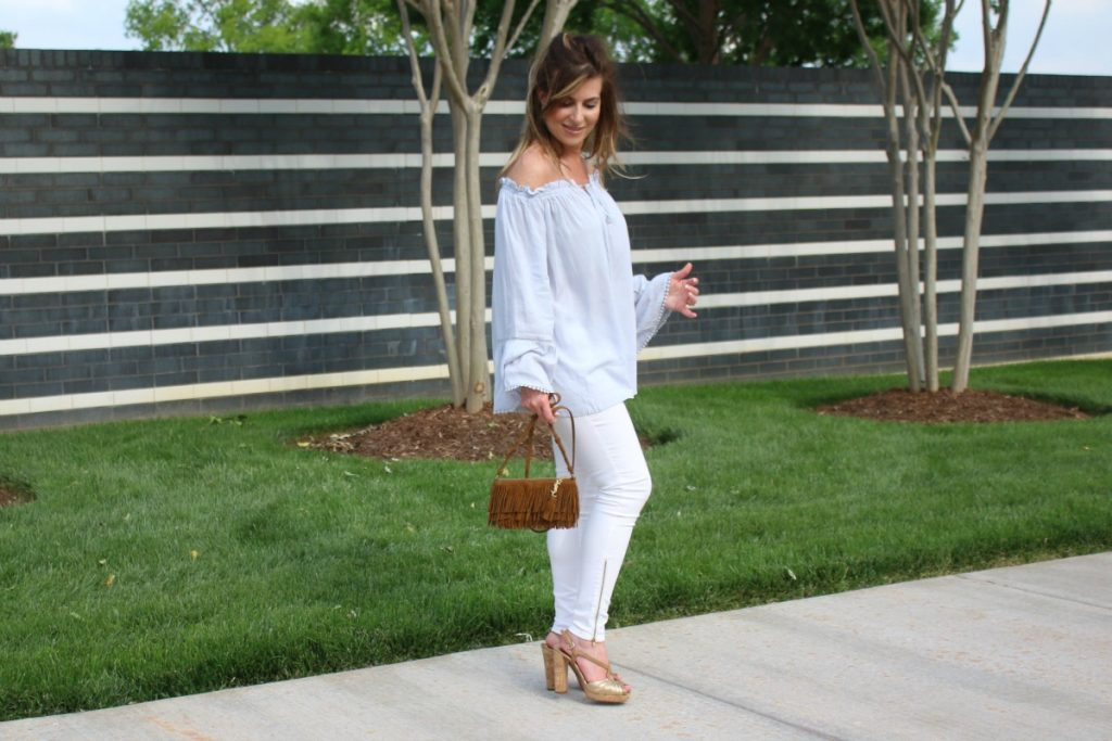 What To Wear: Off The Shoulder Flow