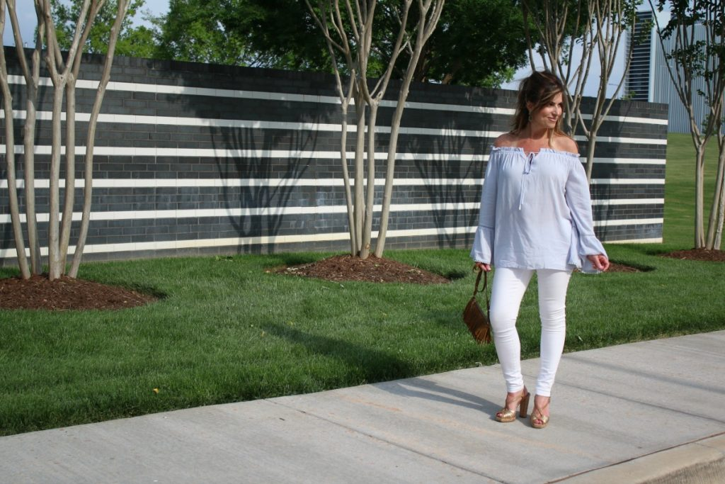 Off The Shoulder Flow Susan Hanover YSL TheOPLife.com 5