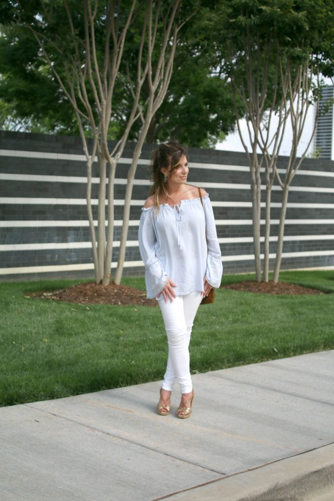 Off The Shoulder Flow Susan Hanover YSL TheOPLife.com 9