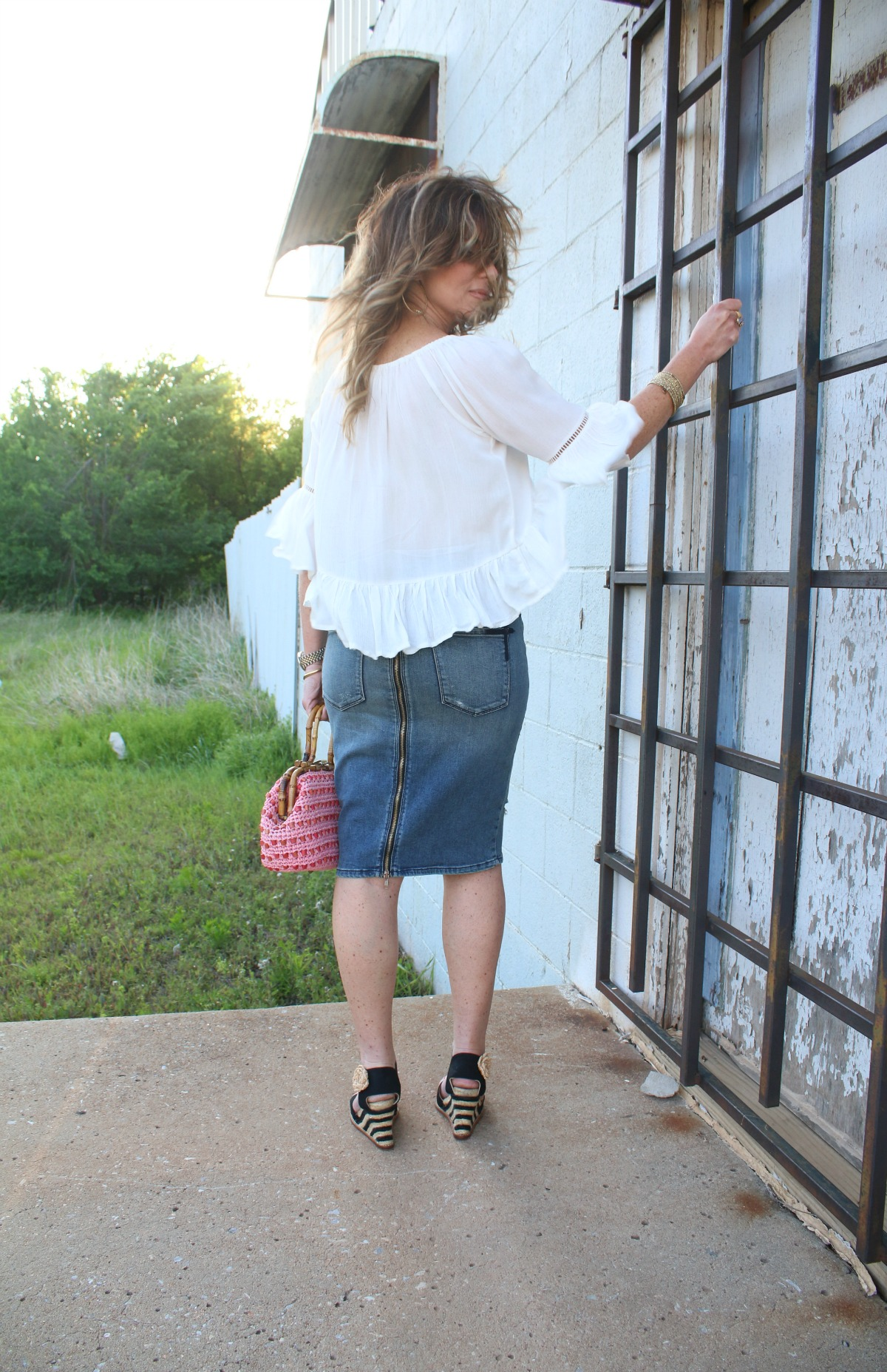 What To Wear Spring Style Mixing Textures TheOPLife.com 3