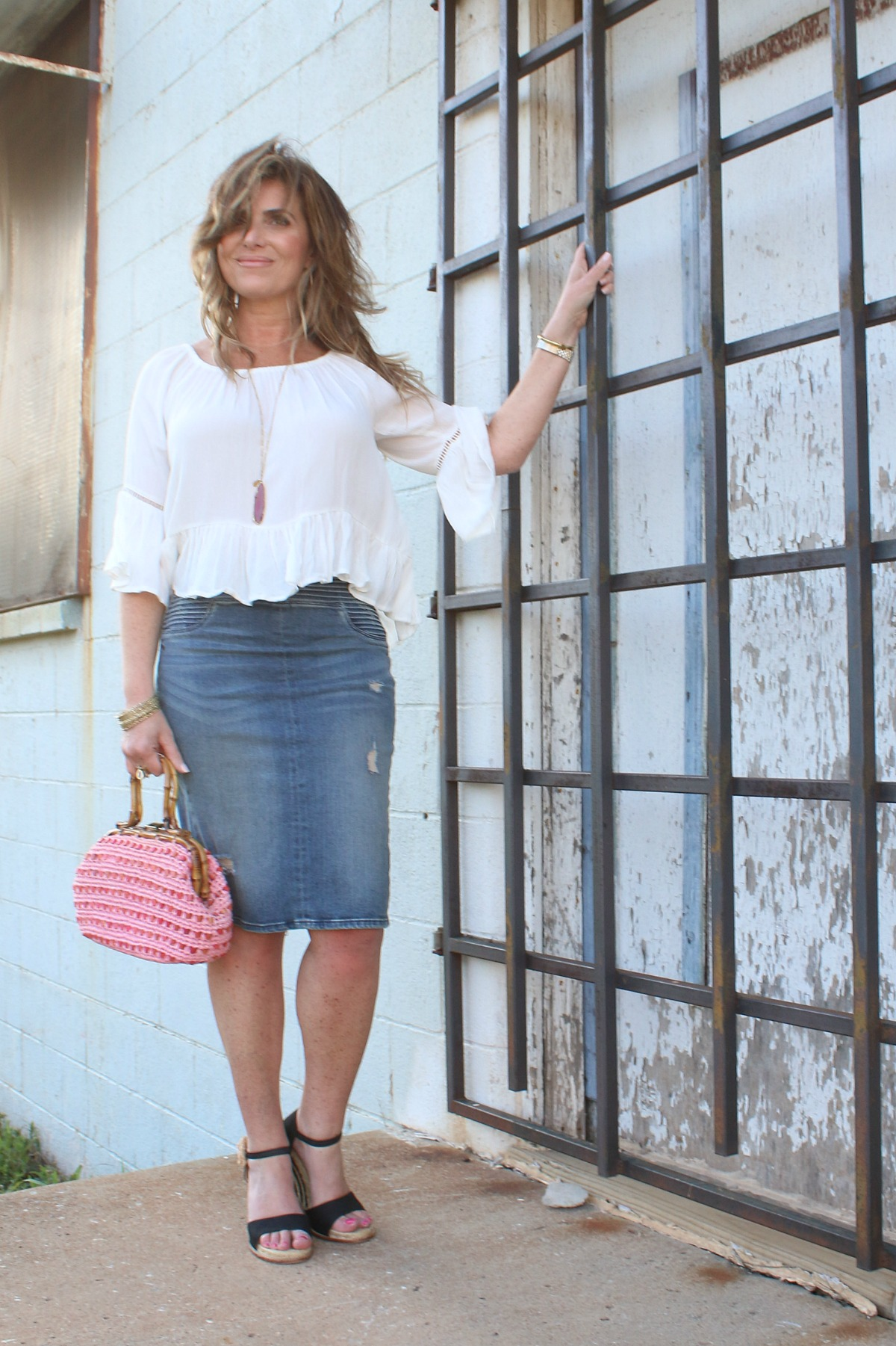 What To Wear Spring Style Mixing Textures TheOPLife.com 8