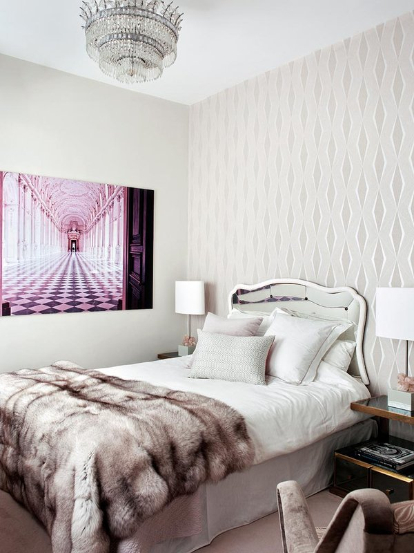 glamour-en-el-dormitorio_ampliacion Decor Madrid Apartment theOPLife.com