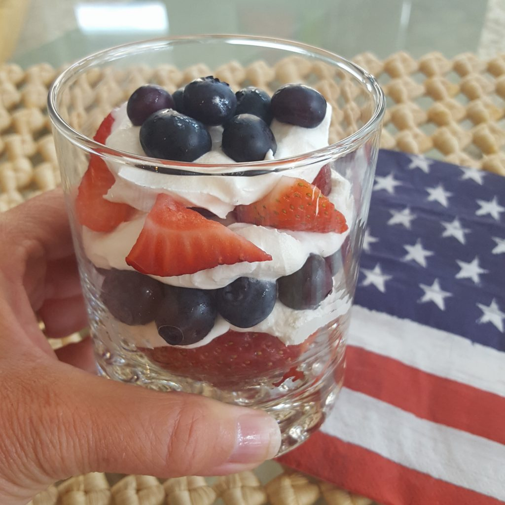Red White and Blue Parfaits The OP Life