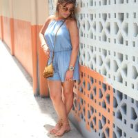 Chambray Romper The OP Life 3