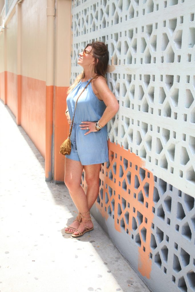 Chambray Romper The OP Life 6