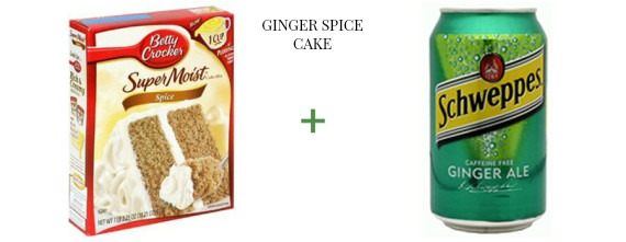 2 ingredient cake The OP Life Ginger Spice Cake