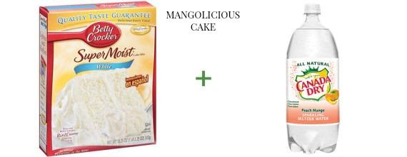 2 ingredient cake The OP Life Mangolicious Cake