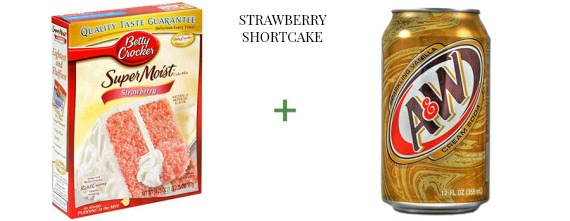 2 ingredient cake The OP Life Strawberry Shortcake