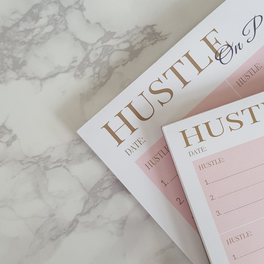 New Product Launch:  Hustle On Purpose Lifestyle Notepads