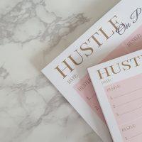 HUSTLE On Purpose Lifestyle Notepads