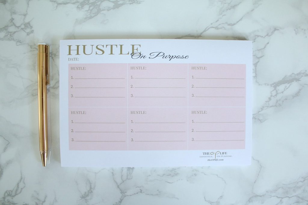 Hustle On Purpose Lifestyle Notepads Small