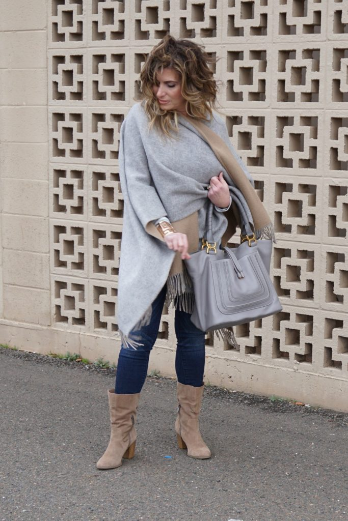 Naturally Neutral Rag & Bone Poncho Chloe Marie Bag The OP Life 5