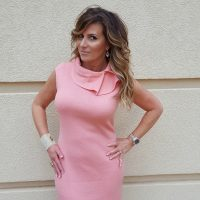 What To Wear Colorful Classics St. John Dress The OP Life 3