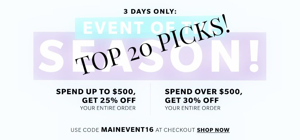 20  Must Haves From The Shopbop MAINEVENT Sale