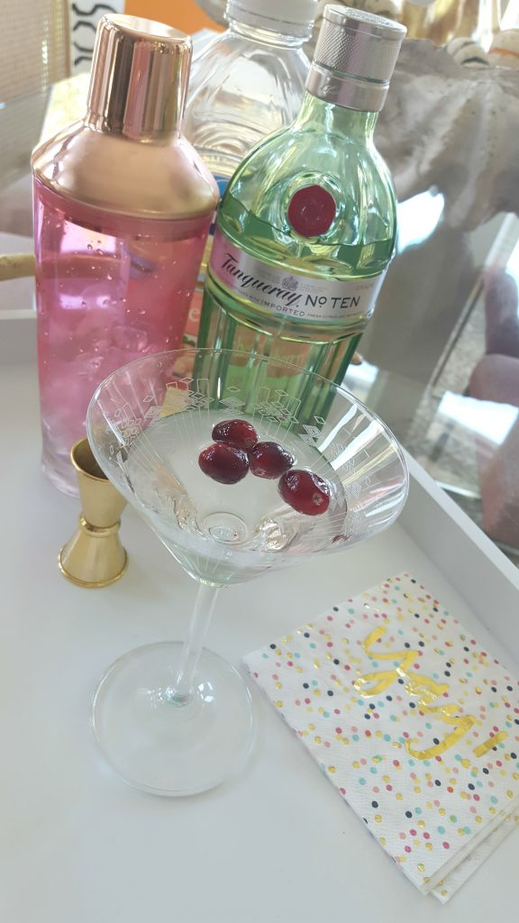 Fuzzy Friday: White Cranberry Martini PLUS a Giveaway