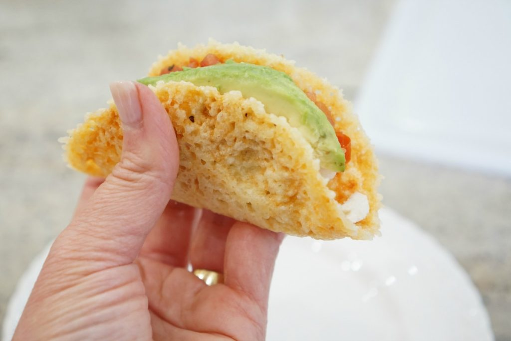 Eat This:  No Carb Taco Shell