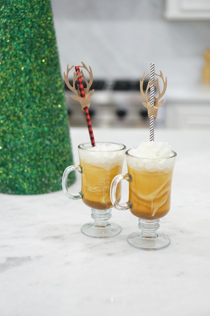 Fuzzy Friday:  Salted Caramel Eggnog