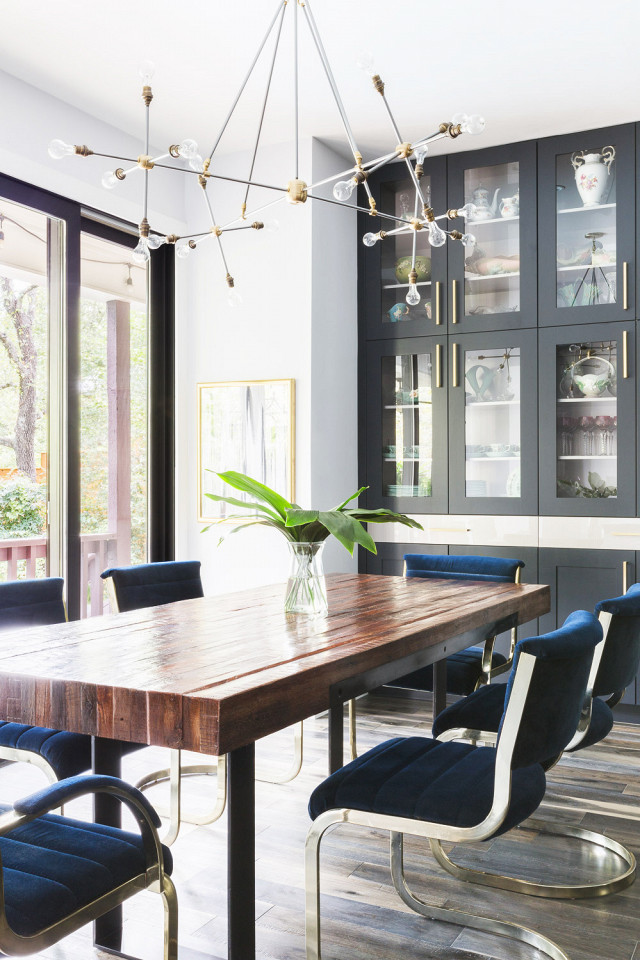 this-bright-jewel-toned-home-is-the-perfect-pick-me-up- dining room sets
