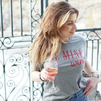 Love Is.... Be Mine/Wine Crush by Lush graphic Tee TheOPLife.com