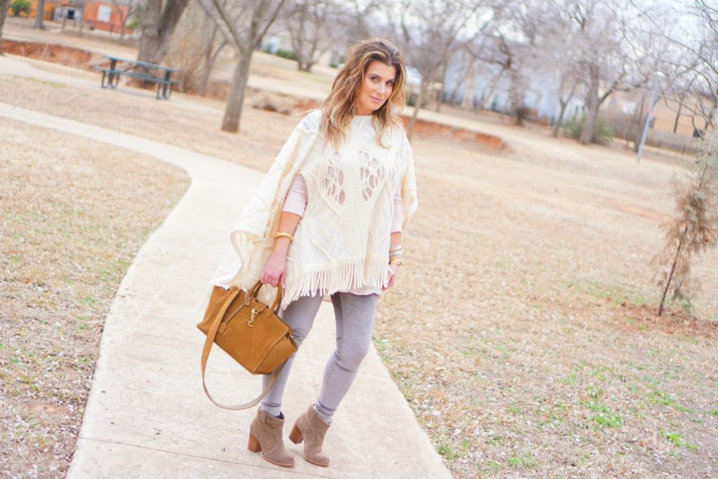 Ponchos and Leggings Saint Laurent Trapeze Bag www.TheOPLife.com