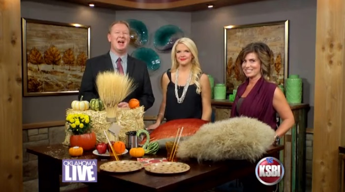 Irene Gianos Fall Decorating Ideas on KSBI