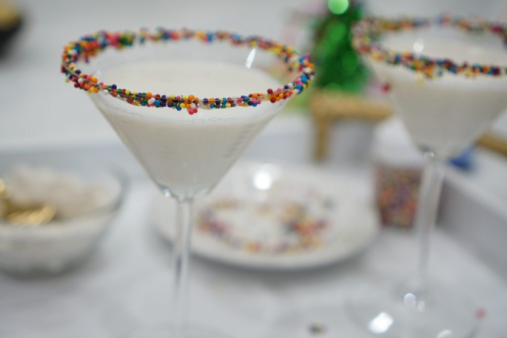 Fuzzy Friday: Birthday Cake Martini and Birthday Reflections