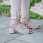 Shoe Obsession:  Blush Mules