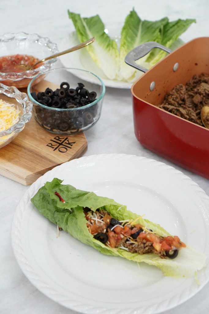 No Carb Taco Lettuce Wraps