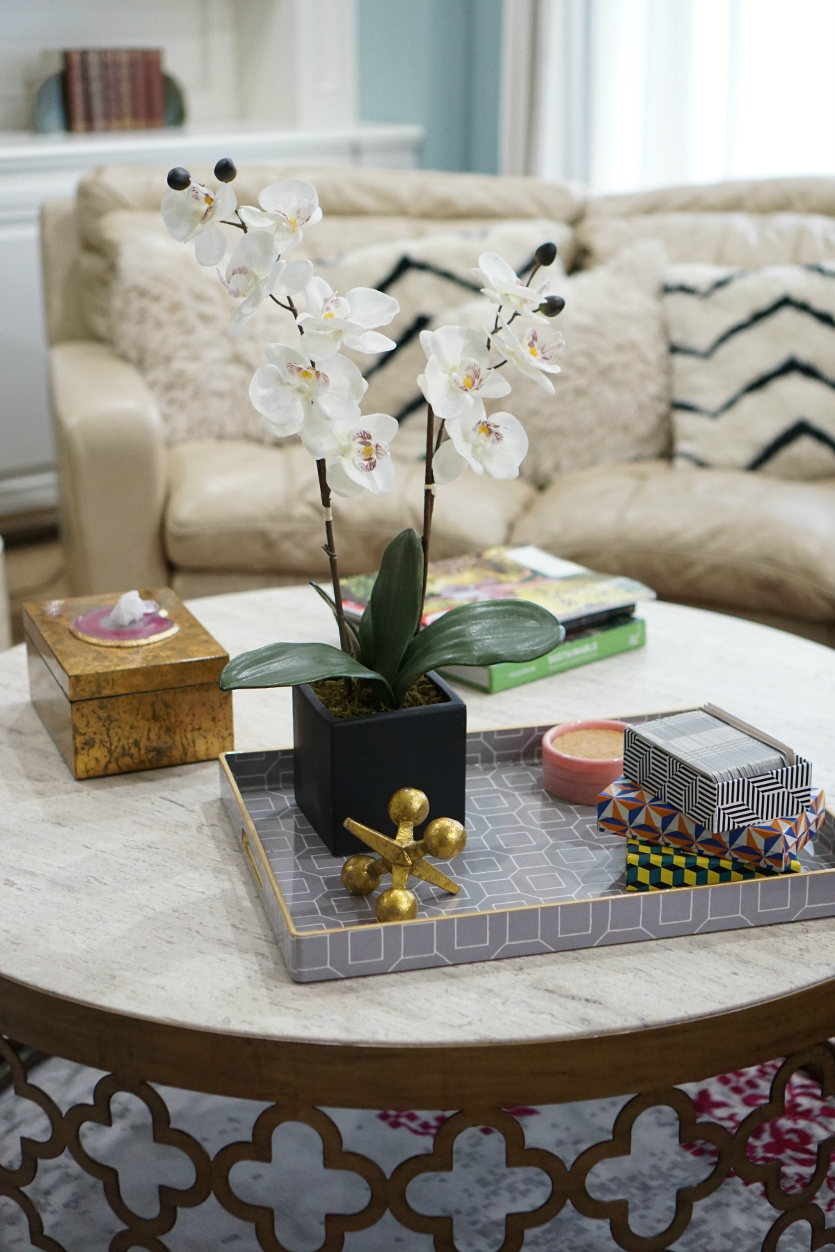 How To Style Your Coffee Table The OP Life