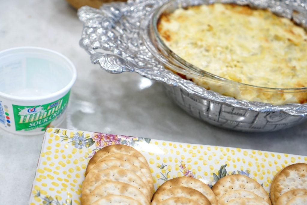 Holiday Cooking, Artichoke Dip, and Easy DIY Projects with Hiland