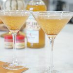 Fuzzy Friday:  Peach Cobbler Tini