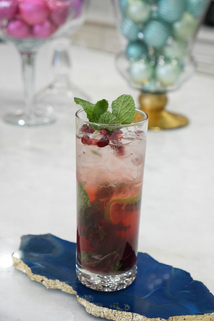 Fuzzy Friday: Pomegranate Mojito