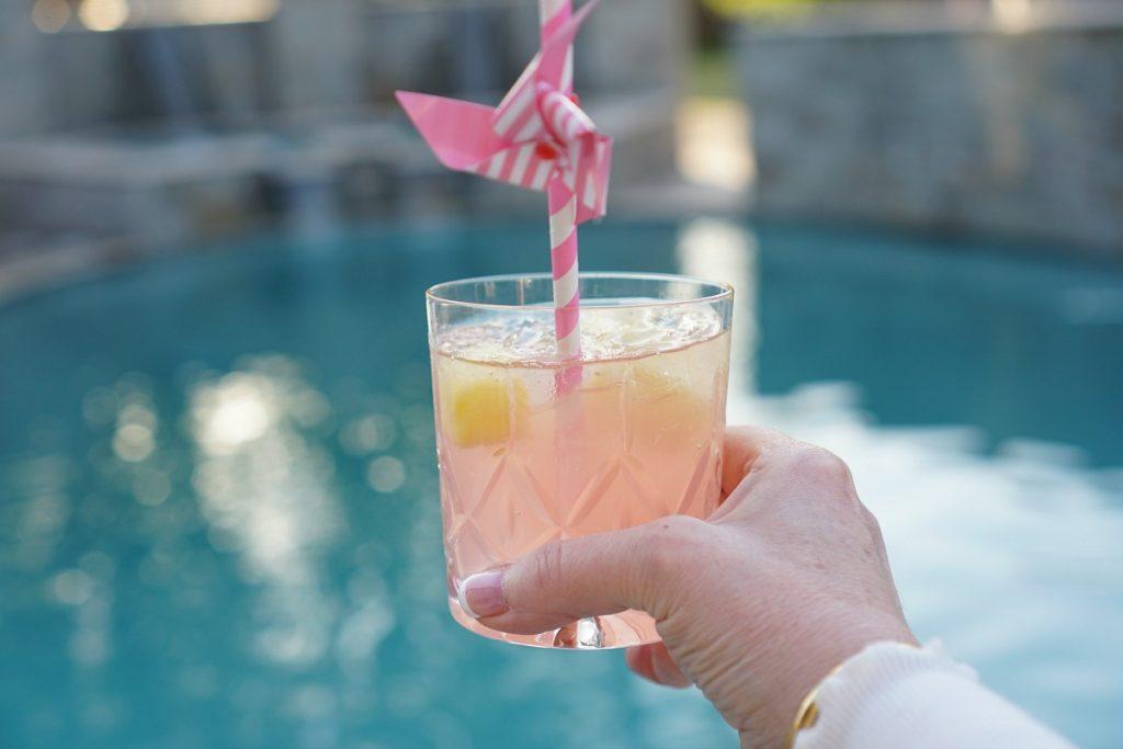 Fuzzy Friday:  Kinky Pink Spring Spritzer