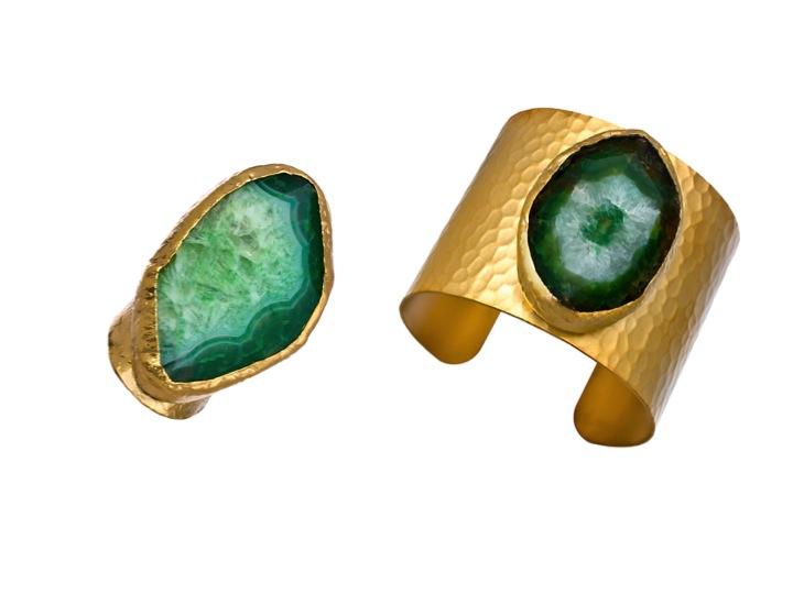 Charlene K Emerald Green Agate
