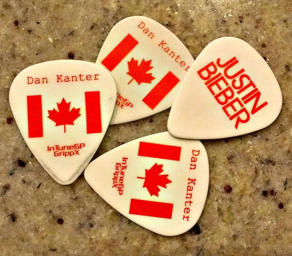 JB and dan kanter guitar picks