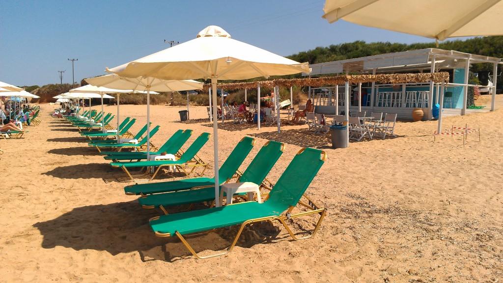 Grand Sabia Beach Bar, Minies  Kefalonia