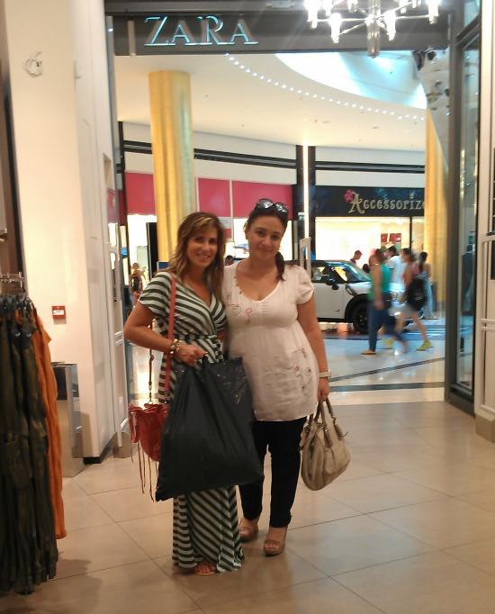 Shopping in Zara Greece