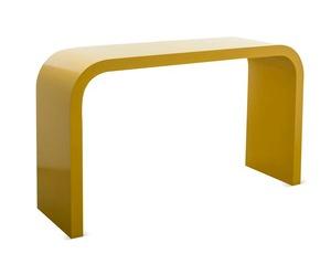 Yellow Waterfall table