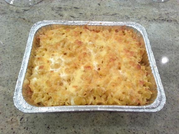 Jackies Mac N Cheese Done