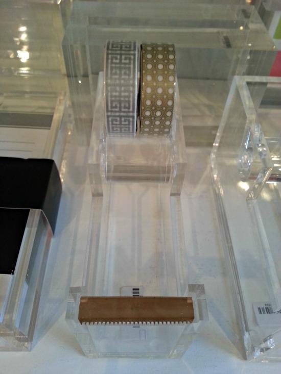 Washi Tape Lucite Dispenser