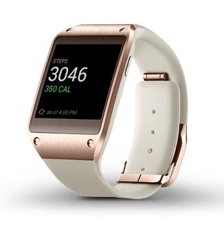 rose gold samsung watch