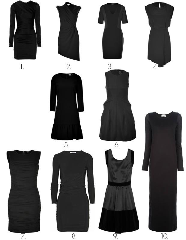Basic Black Dress on The OP Life