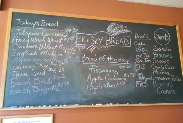 Big Sky Bread Board