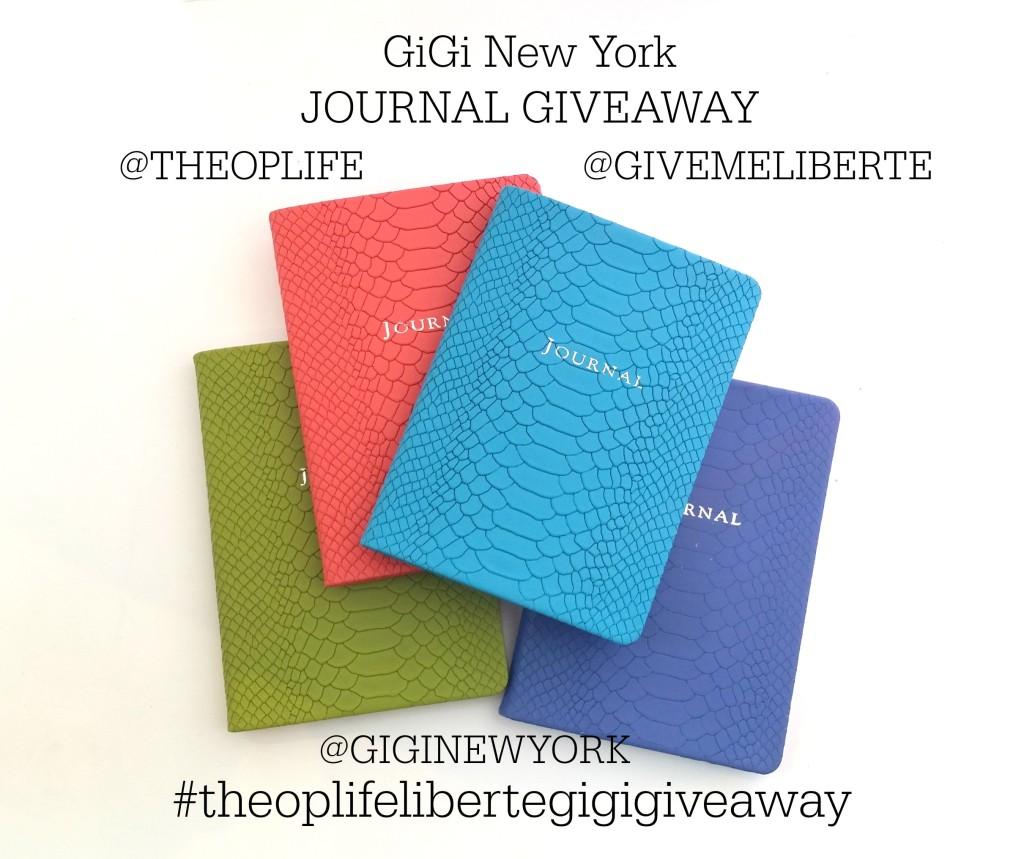 Liberte Giveaway GiGi Journal on The OP Life