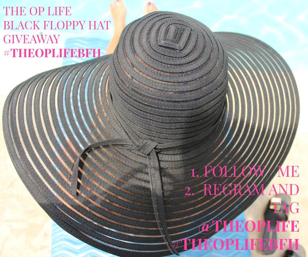 The OP Life Black Floppy Hat Giveaway 1