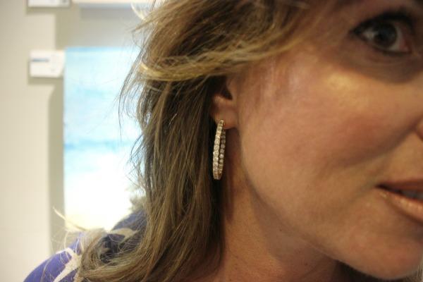 Diamond Hoops Magnum Jewelers The OP Life