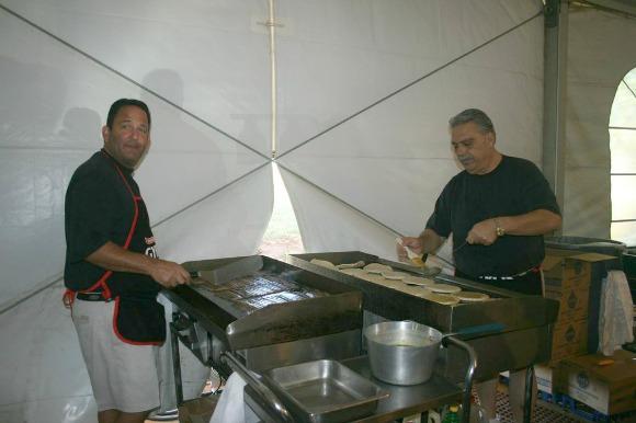 Gyros Booth GreekFestOKC