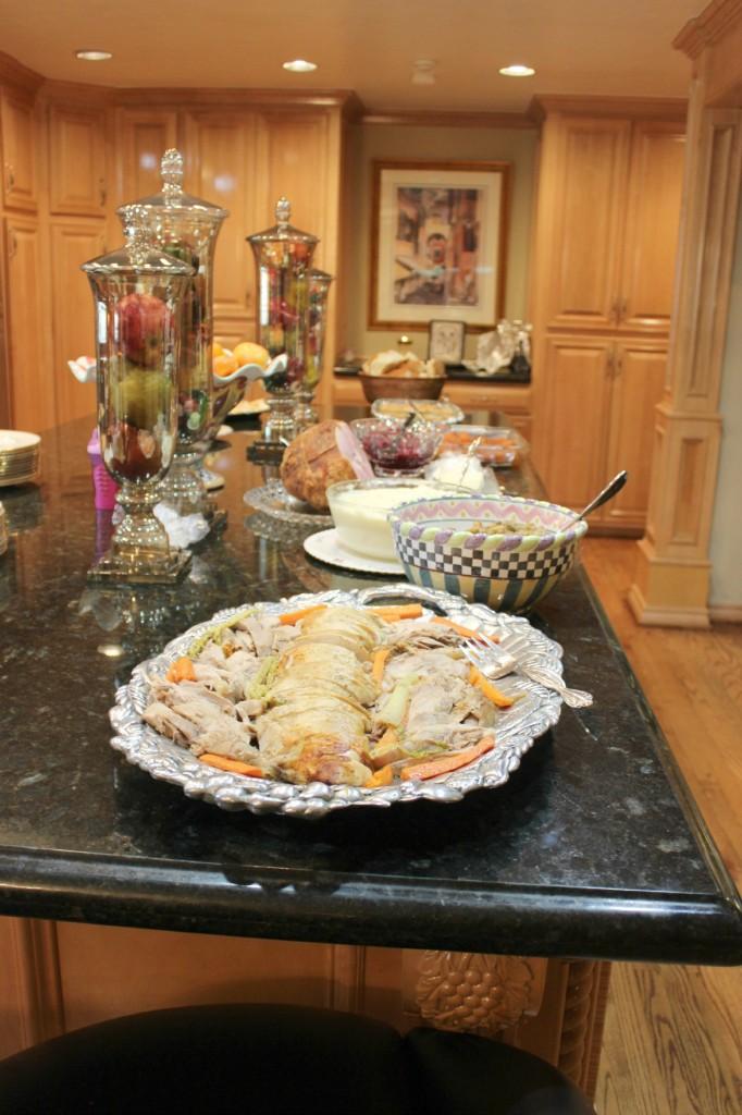 Thanksgiving buffet The OP Life